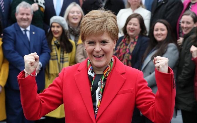 Šotimaa esimene minister ja SNP juht Nicola Sturgeon.