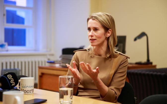 Toomas Sildami intervjuu Kaja Kallasega
