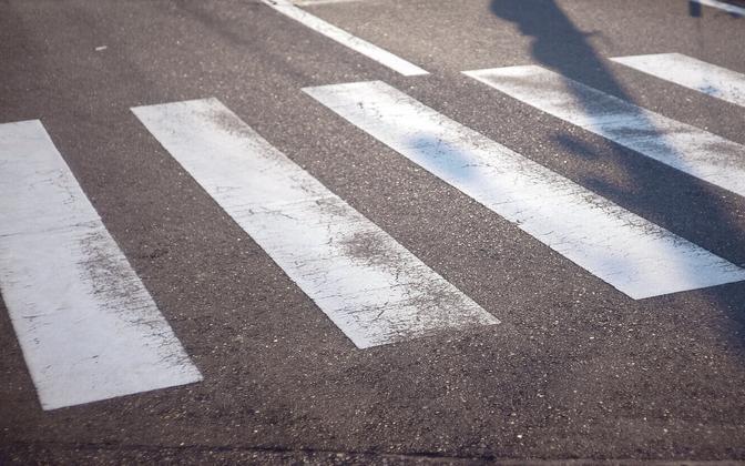 ДТП произошло на пешеходном переходе. Иллюстративная фотография.