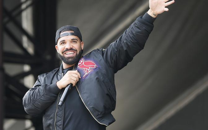 Kanada räppar Drake.