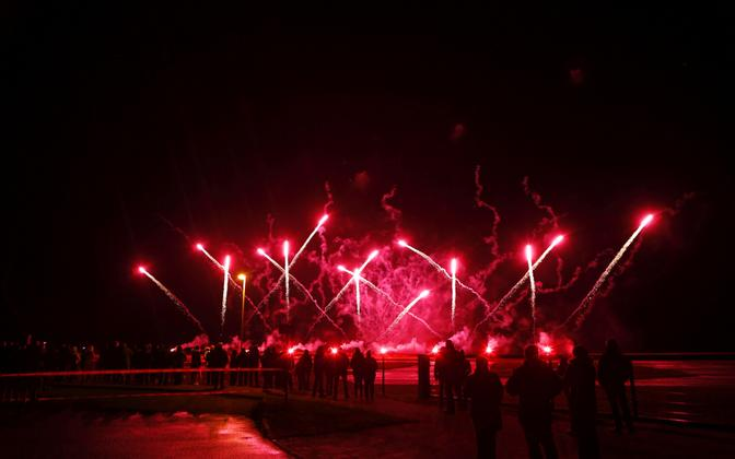 Year-end fireworks.