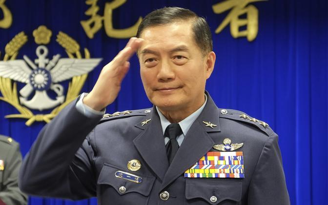 Taiwani kindralstaabi ülem Shen Yi-ming 2019. aastal.