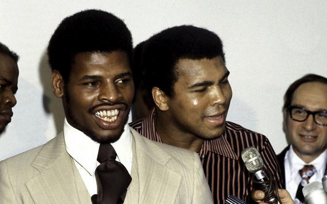 Leon Spinks ja Muhammad Ali
