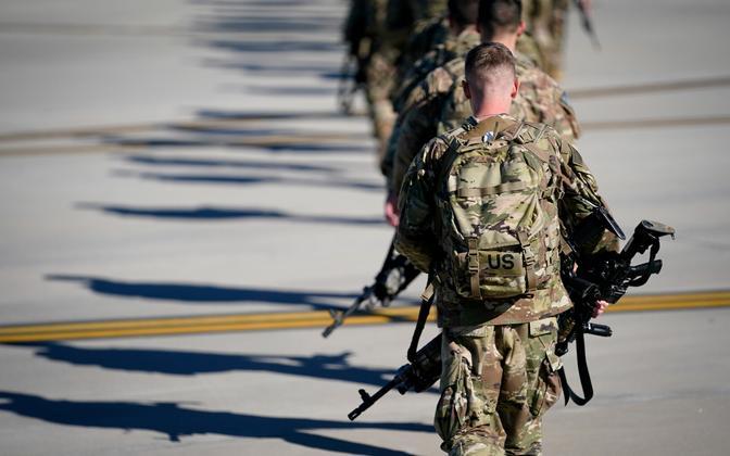 USA sõjaväelased.