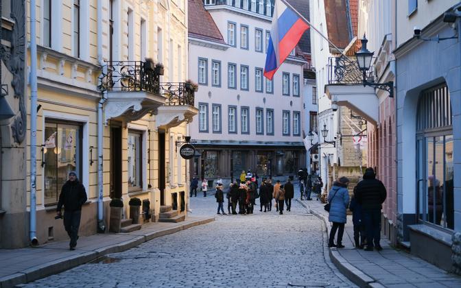 Посольство России в Таллинне.