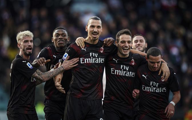 Zlatan Ibrahimovic ja AC Milan