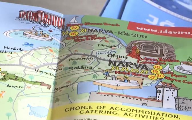 Brochure for Ida-Virumaa.
