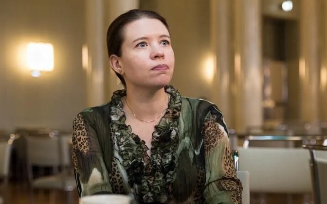 Soome rahvasaadik Anna Kontula (Vasakliit).