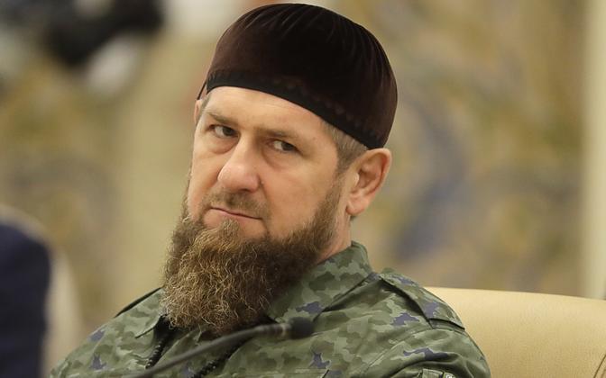 Tšetšeenia liider Ramzan Kadõrov.