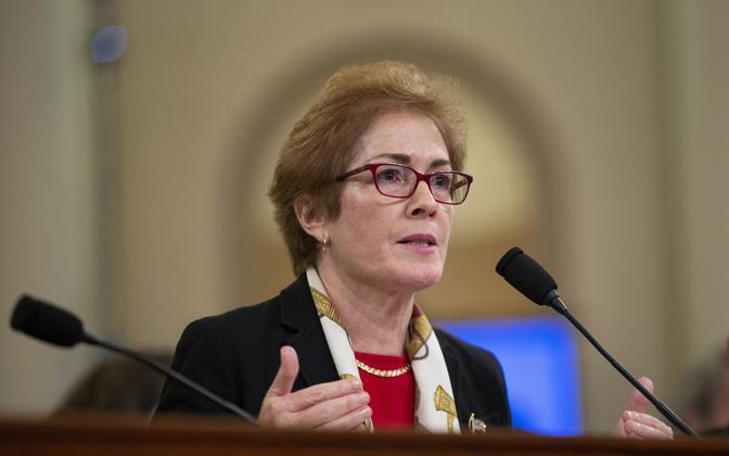 USA endine suursaadik Ukrainas Marie Yovanovitch.