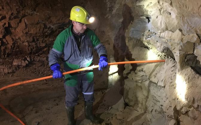 Töö kaevanduses. Fondi raha on mõeldud rohepöördega kaasnevate mõjude leevendamiseks.