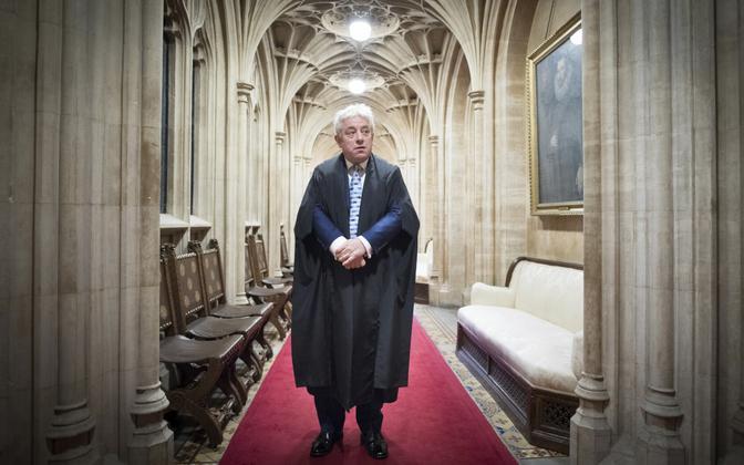 Briti parlamendi alamkoja (nüüdseks juba endine) spiiker John Bercow.