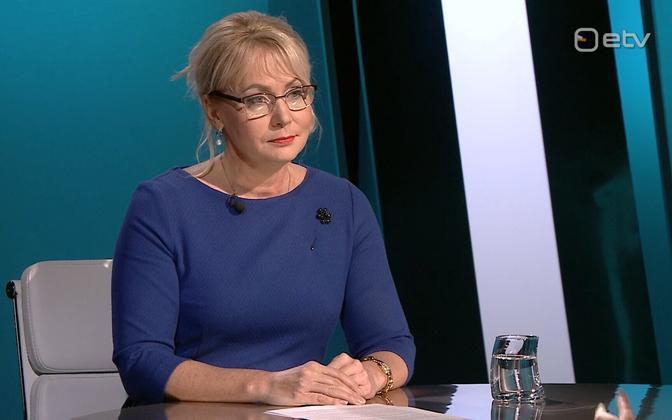 Minister of Population Riina Solman (Isamaa).