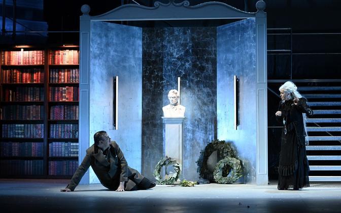 Johannes Mooser ja Theodora Varga Jüri Reinvere ooperis