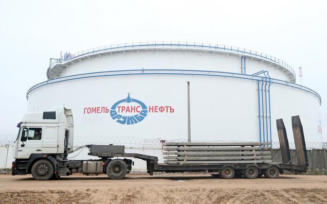 Naftamahuti Gomeli piirkonnas.