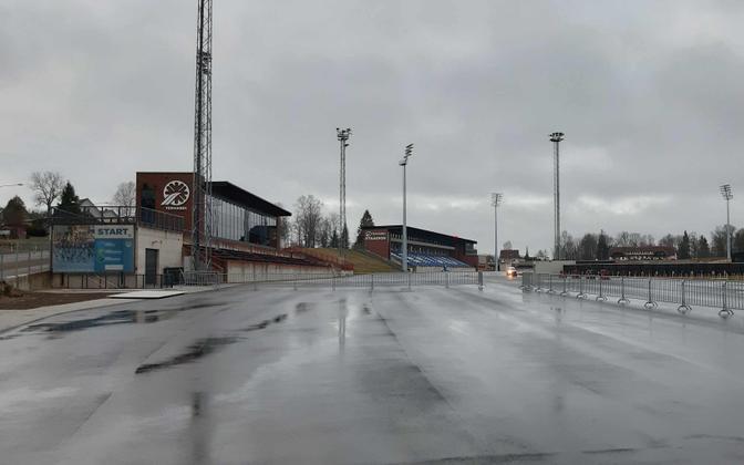 Tehvandi stadium in Otepää on January 31.