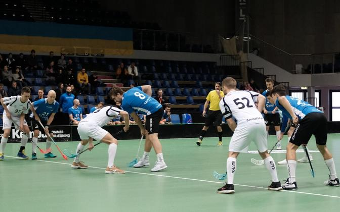 Eesti - Poola kohtumine MM-valikturniiril.