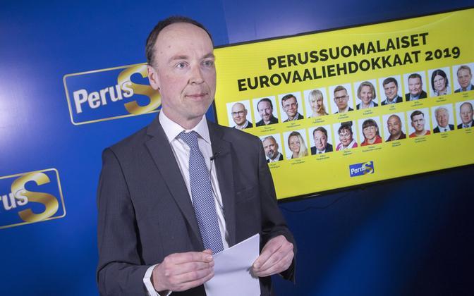 Põlissoomlaste liider Jussi Halla-Aho.