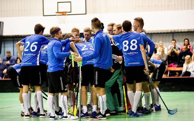 Мужская сборная Эстонии по флорболу.