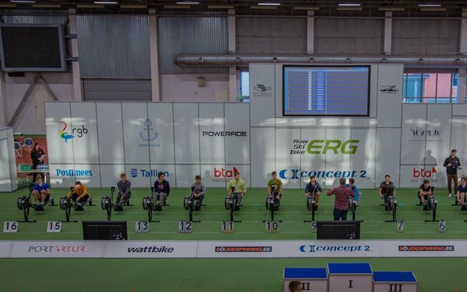 Sõudjad Eesti sisesõudmise võistlusel Alfa 2020