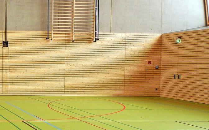 Спортивный зал. Иллюстративная фотография.