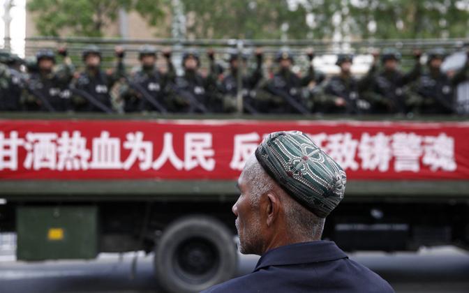 Foto Xinjiangi provintsist.