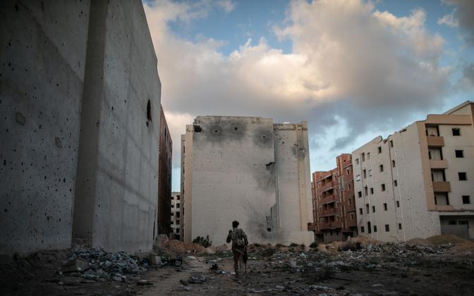 Sõjategevus Liibüas.