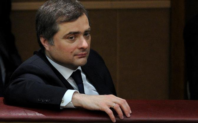 President Putini nüüdseks juba endine nõunik Vladislav Surkov.