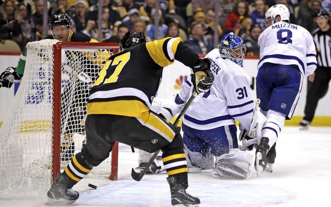 Sidney Crosby viskas Pittsburgh Penguinsi võidumängus ühe värava