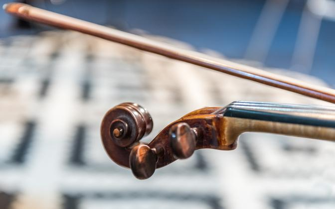Скрипка. Иллюстративная фотография.
