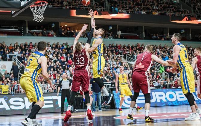 Edu maha mänginud Läti alustas EM-valiktsüklit valusa ühepunktilise kaotusega