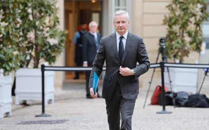 Prantsuse majandus- ja rahandusminister Bruno Le Maire.
