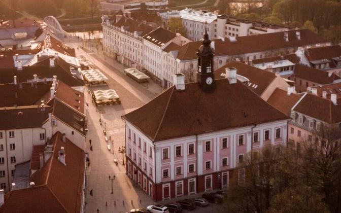 The city of Tartu