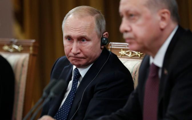 Putin ja Erdogan 2019. aastal Sotšis.