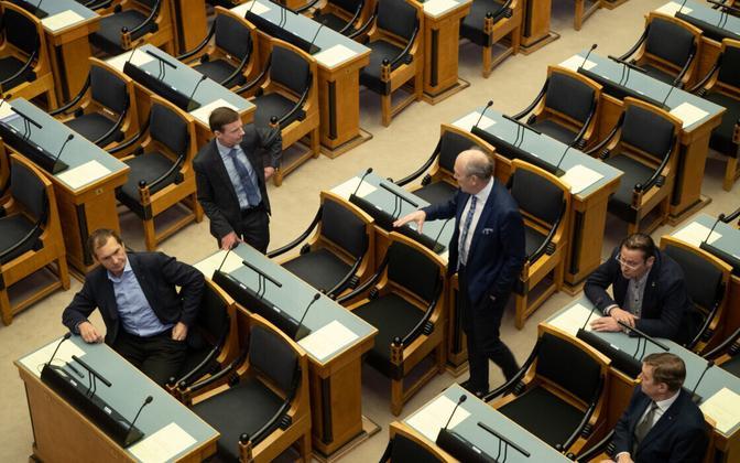 Riigikogu sitting lasted just 13 minutes.