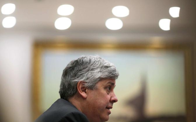 Eurogrupi juht Portugali rahandusminister Mario Centeno.