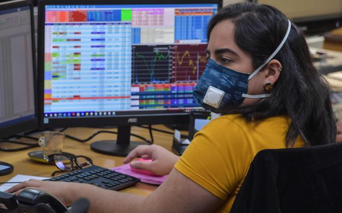 Brasiilia börsimaakler.