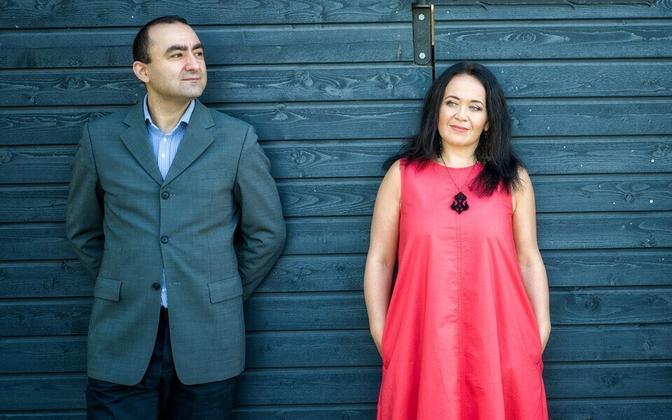 Ara Yaralyan ja Ivi Rausi.