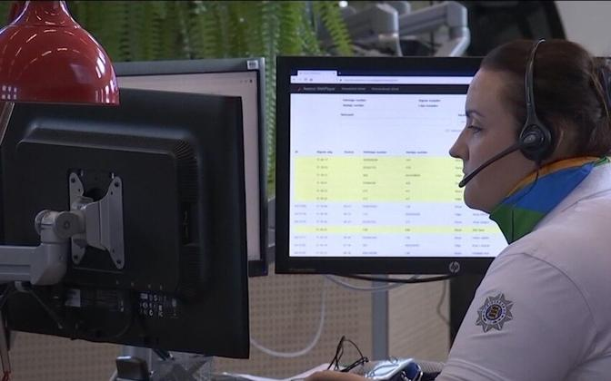 The new 1247 helpline was set up during the emergency situation.