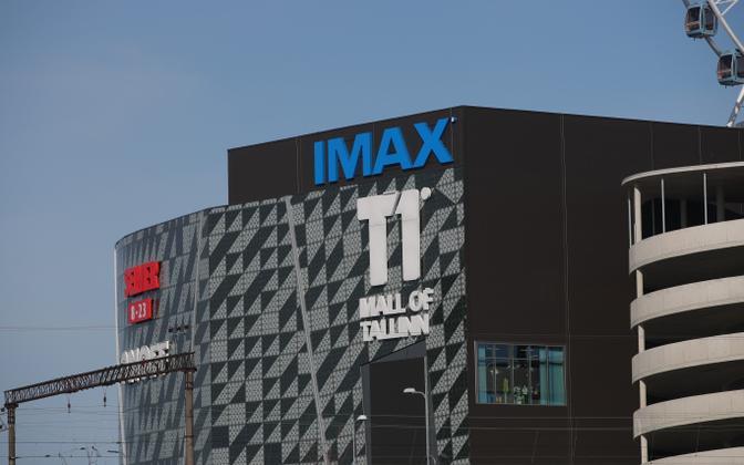 T1 shopping mall in Tallinn.