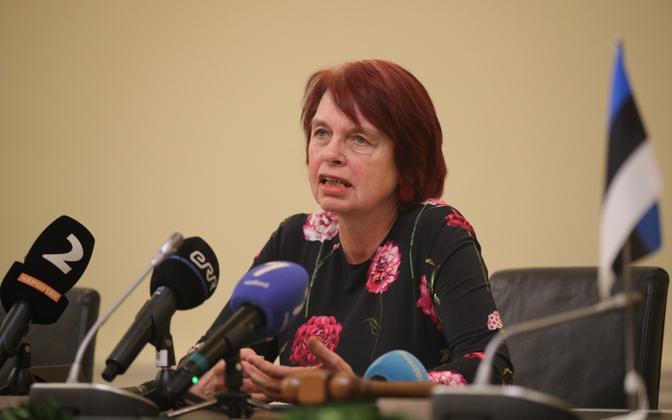 Tartu Ülikooli mikrobioloogia professor Irja Lutsar.