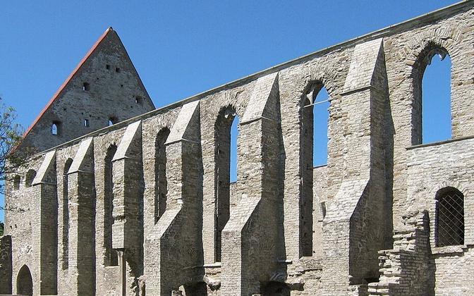 Pirita Convent, venue of the annual Birgitta Festival.