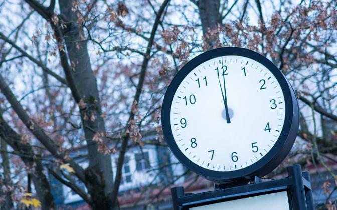 The clocks go forward on Sunday (picture is illustrative).