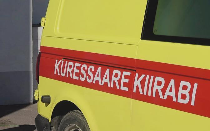 Скорая помощь в Курессааре.