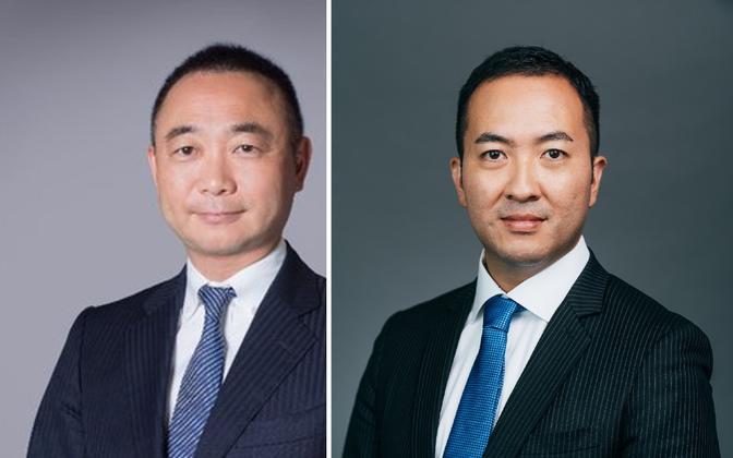 Makoto Suhara ja Yoshito Tsubasa.