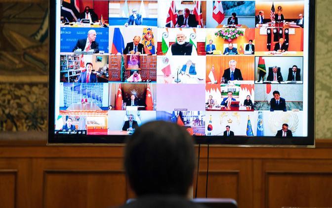 Paljudes suurriikides on inimeste usaldus valitsuse vastu kriisiga langenud, Euroopa on jagunenud kaheks.