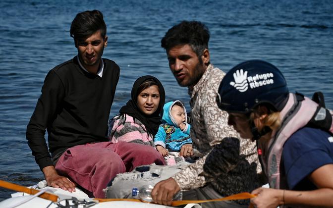 Vaatepilt Lesbose saare rannikul.