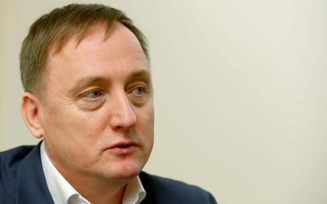Läti Panga president Martinš Kazaks.