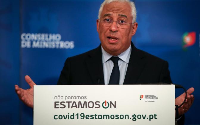 Portugali peaminister Antonio Costa.