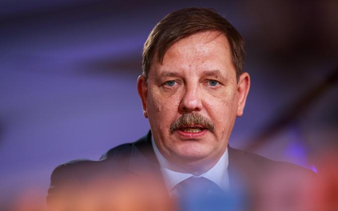 Majandus- ja taristuminister Taavi Aas.